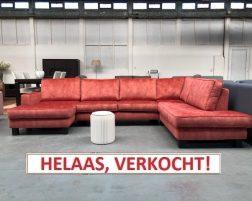 Hoekbank Velvet BLUSH. Normaal € 2.499,00 nu slechts € 1.499,00!
